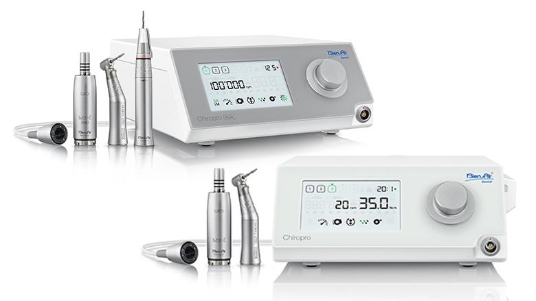Nuevos motores de implantes y cirugía oral de Bien-Air Dental