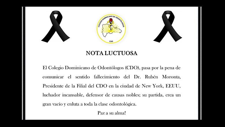 Fallece en Nueva York el doctor Rubén Moronta