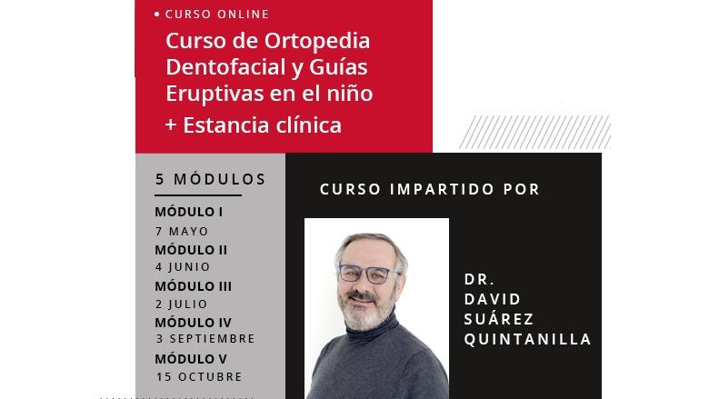 Curso de Ortopedia Dentofacial en niños del Dr. Suárez Quintanilla