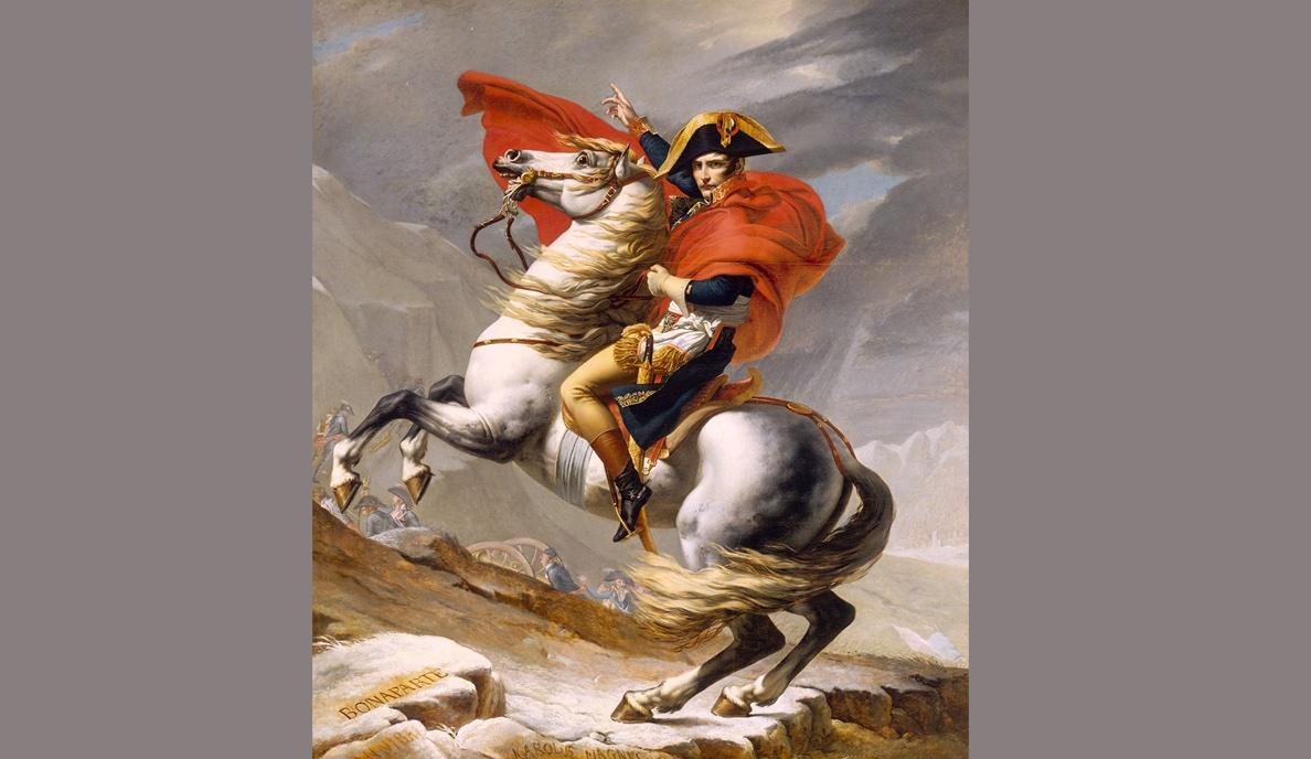 Napoleón a lomos de Marengo: Historia de un cuadro