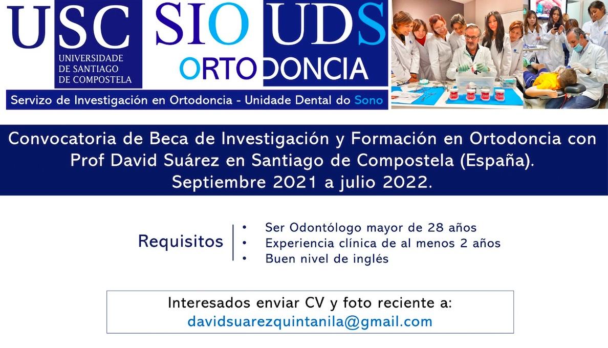 Beca de Ortodoncia con el maestro Suárez Quintanilla